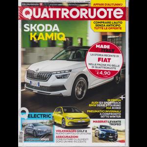 Quattroruote + Quattroruote made by Italy 2007-2018 - i migliori articoli Fiat - n. 771 - mensile - novembre 2019 - 2 riviste