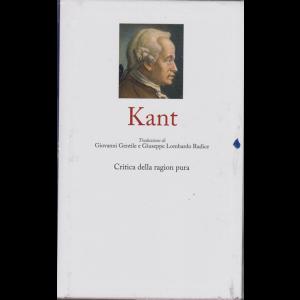 I grandi filosofi - n. 3 - Kant - Critica della ragion pura- settimanale - 25 ottobre 2019 - copertina rigida