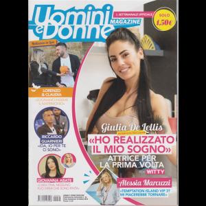 Uomini E Donne Magazine - n. 34 - settimanale - 24 ottobre 2019 -