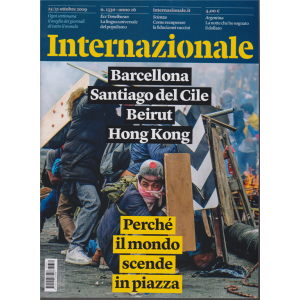 Internazionale - n. 1330 - 25/31 ottobre 2019 - settimanale