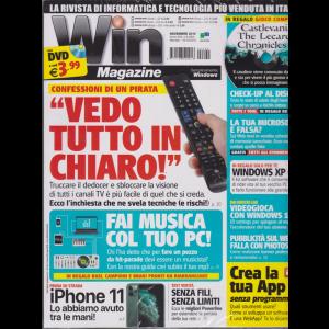 Win Magazine Dvd - n. 262 - novembre 2019 - mensile