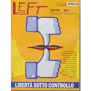 Left Avvenimenti - n. 43 - 25  ottobre 2019 - 31 ottobre 2019 - settimanale