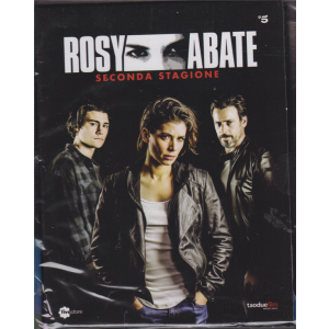 Fivestore Magazine - 3 Dvd Rosy Abate seconda stagione -  3 dvd + booklet - n. 63 - mensile - 23 ottobre 2019