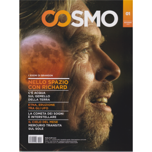 Cosmo - n. 1 - novembre 2019 - mensile