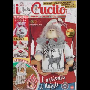 I Love Cucito Pack - n. 7 - bimestrale - novembre - dicembre 2019 - 2 riviste