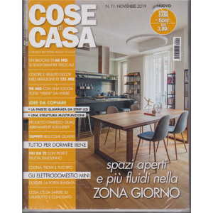 Cose Di Casa + - Casa In Fiore - n. 11 - novembre 2019 - mensile- 2 riviste