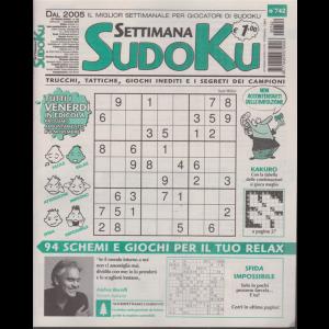 Settimana Sudoku - n. 742 - settimanale - 1 novembre 2019 -