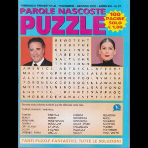 Parole Nascoste Puzzle - n. 67 - trimestrale - novembre - gennaio 2019 - 100 pagine