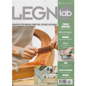 Legno Lab - n. 113 - ottobre - novembre 2019 - bimestrale