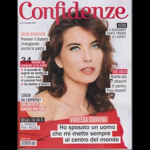 Confidenze - n. 45 - 29 ottobre 2019 - settimanale