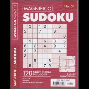 Magnifico Sudoku - n. 51 - livello 4-5 avanzato - bimestrale -