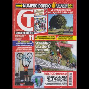 Cicloturismo - n. 11 - novembre 2019 - mensile + La guida alle scelte 2020 - 2 riviste