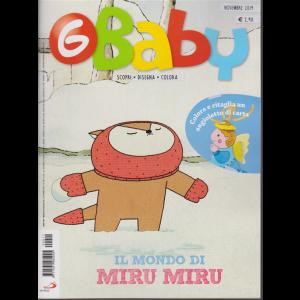 G-Baby - Fumetti Giochi Attività - n. 11 - novembre 2019 - mensile