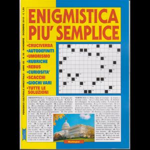 Enigmistica Piu' Semplice - n. 58 - bimestrale - novembre - dicembre 2019