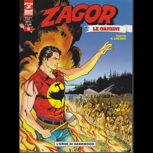 Zagor Gigante - L'eroe Di Darkwood - n. 6 - novembre 2019 - mensile