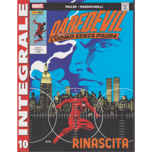 Marvel Integrale - Daredevil - L'uomo senza paura - n. 10 - mensile - 31 ottobre 2019 - Rinascita