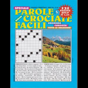 Speciale Parole Crociate facili - n. 54 - trimestrale - novembre - gennaio 2020 - 132 pagine