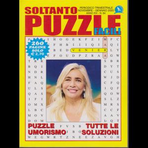 Soltanto Puzzle Facili - n. 64 - trimestrale - novembre - gennaio 2019- 260 pagine - Mara Venier