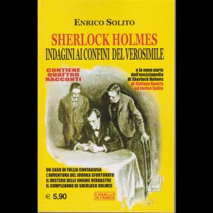 I gialli di Crimen - Sherlock Holmes - Indagini ai confini del verosimile - di Enrico Solito - n. 10 - ottobre 2019 - mensile