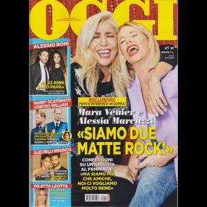 Oggi - Marcuzzi E Venier - n. 44 - 7/11/2019 - settimanale