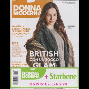 Donna Moderna  + Starbene - n. 46 - 31 ottobre 2019 - settimanale - 2 riviste