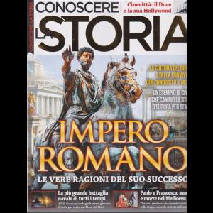 Conoscere la storia -Impero Romano  n. 55 - bimestrale - novembre - dicembre 2019