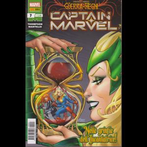 Captain Marvel - n. 7 - mensile - 31 ottobre 2019 - Nelle grinfie dell'incantatrice!