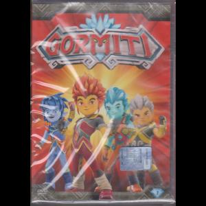Gormiti - 1° dvd  e in più grazie a Panini il favoloso album delle figurine