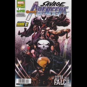 Savage Avengers - n. 1 - La città delle falci - mensile - 31 ottobre 2019 -