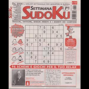 Settimana sudoku - n. 743 - settimanale - 8 novembre 2019