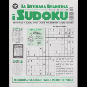 La settimana enigmistica - i sudoku - n. 68 - 7 novembre 2019 - settimanale