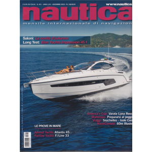 Nautica - n. 691 - novembre 2019 - mensile
