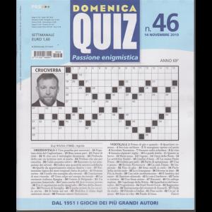 Domenica Quiz - n. 46 - 14 novembre 2019 - settimanale