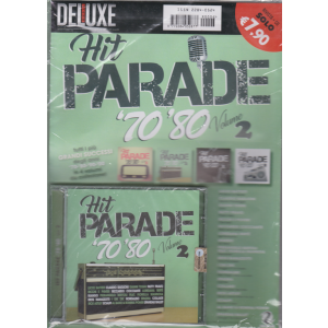 Saifam Music Deluxe Var 87 -Hit Parade '70 '80 volume 2 - rivista + cd -