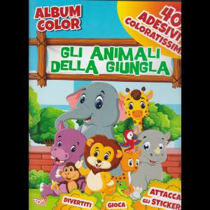 Album color - Gli animali della giungla - 24 ottobre 2019 - bimestrale - n. 48