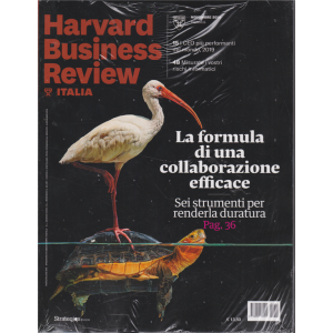 Harward Business Review Italia - n. 11 - novembre 2019 - mensile - 2 riviste