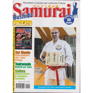 Samurai - Bushido - Pugilato - n. 11 - novembre 2019 - speciale 80 pagine