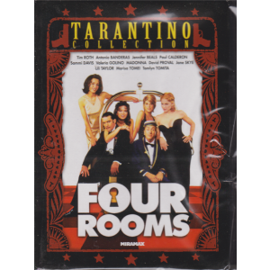 I Dvd Di Sorrisi4 - Four Rooms - Tarantino collection - Nona uscita - n. 34 - settimanale - 12/11/2019