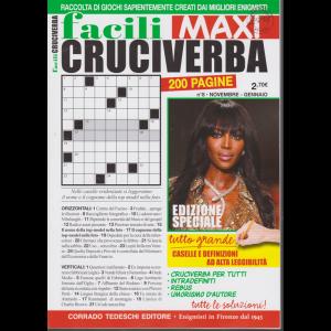 Facili Cruciverba Maxi - n. 8 - novembre - gennaio 2020 - 200 pagine - bimestrale