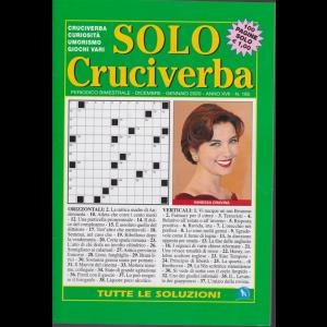Solo Cruciverba - n. 185 - bimestrale - dicembre - gennaio 2020 - 100 pagine