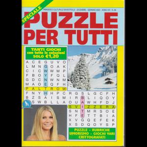 Speciale Puzzle per tutti - n. 95 - bimestrale - dicembre - gennaio 2020 -