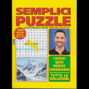 Semplici Puzzle - n. 94 - bimestrale - dicembre - gennaio 2020 - 100 pagine -