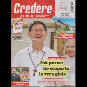 Credere - La Gioia Della Fede - n. 46 - settimanale - 17 novembre 2019 - rivista + Messalino