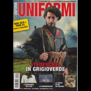 Uniformi - n. 34 - bimestrale - novembre - dicembre 2019 -