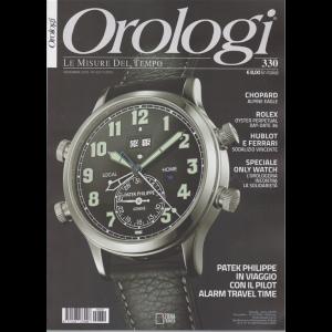 Orologi - n. 330 - novembre 2019 - mensile