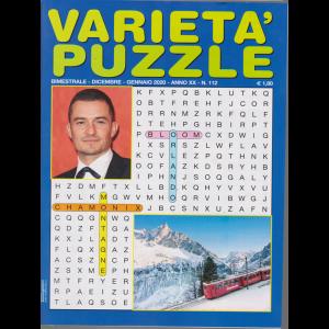 Varieta' Puzzle - n. 112 - bimestrale - dicembre - gennaio 2020 -