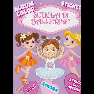 Album color stickers - Scuola di ballerine - n. 37 - bimestrale - ottobre 2019 -