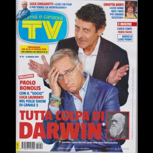 Sorrisi E Canzoni Tv - n. 10 - 12 marzo 2019 - settimanale