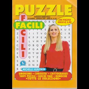 Puzzle facili facili - n. 35 - bimestrale - dicembre - gennaio 2020 - 196 pagine - Michelle Hunziker