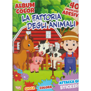 Toys2 Sticker Album - La Fattoria degli animali - n. 32 - bimestrale - 17 ottobre 2019 -